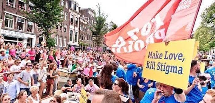 Vaar mee met de Pride-boot van Poz&Proud