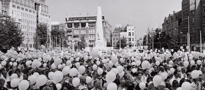 Tentoonstelling 'Aids in Amsterdam 1981 – 1996