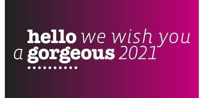 De beste wensen voor het nieuwe jaar