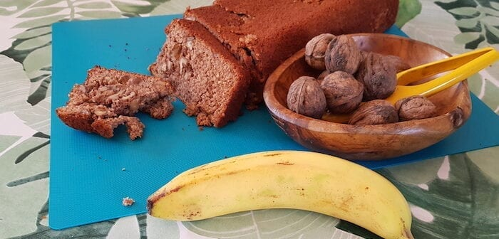 Bananencake zonder insulinedip